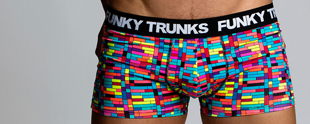 Funky Trunks® Stacked Up Underwear Trunk