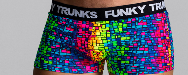 Funky Trunks® Mosaic Magic Underwear Trunk
