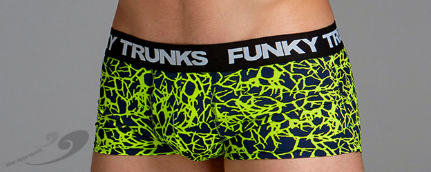 Funky Trunks® Coral Gold Underwear Trunk
